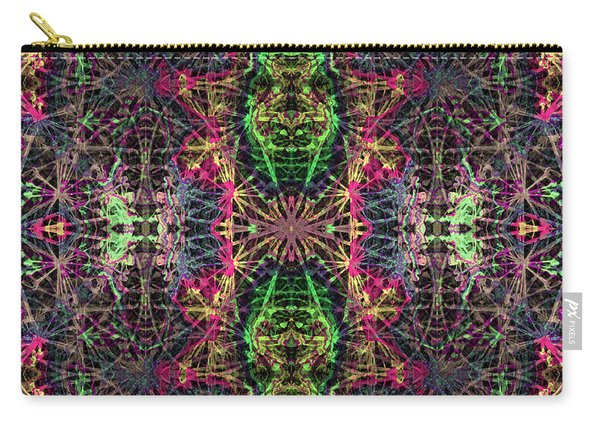 Fractal Organelles, No. 4 Carry-all Pouch