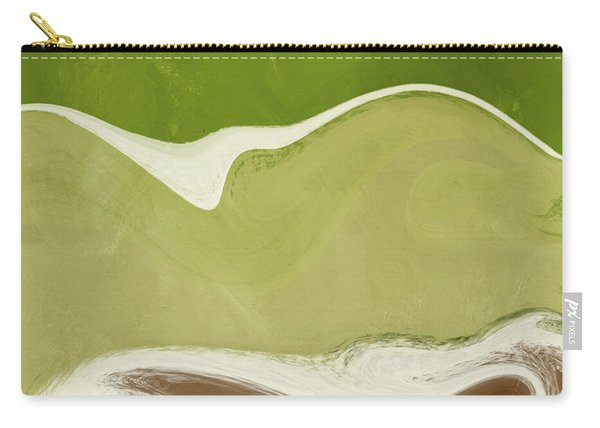 Organic Wave 1- Art By Linda Woods Carry-all Pouch