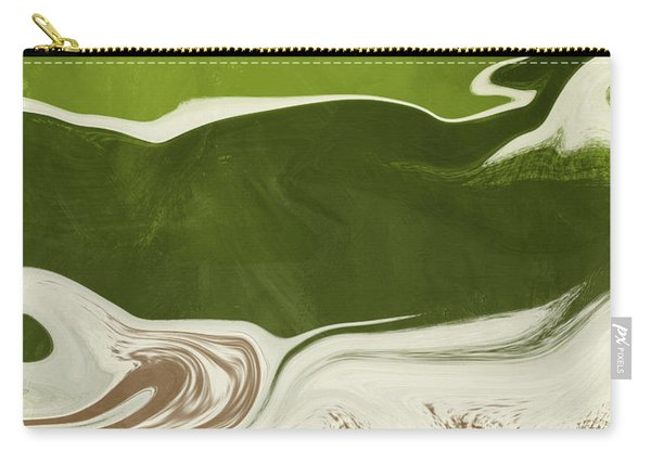 Organic Wave 2- Art By Linda Woods Carry-all Pouch