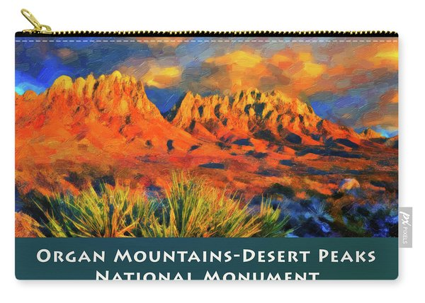 Organ Mountains Carry-all Pouch