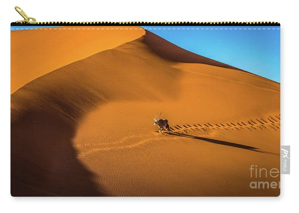 Oryx Crossing Big Daddy Dune, Sossusvlei, Namibia Carry-all Pouch