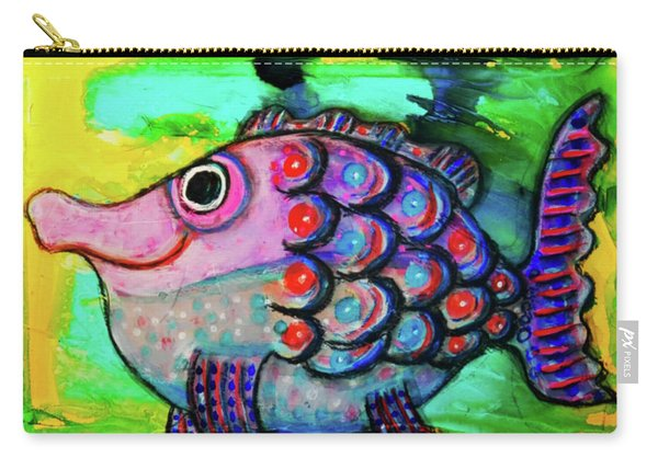 Oscar The Nosefish Carry-all Pouch