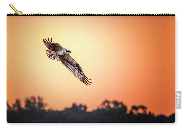 Osprey At Sunrise Carry-all Pouch