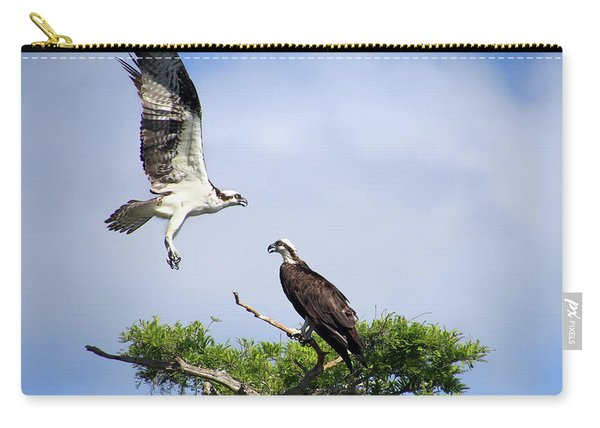 Ospreys At Blue Cypress Lake Carry-all Pouch