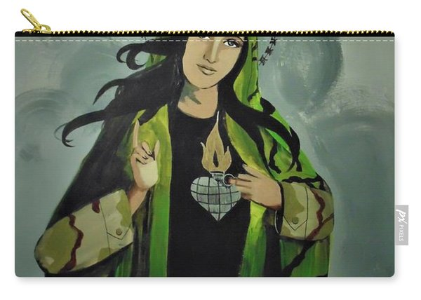 Our Lady Of Veteran Suicide Carry-all Pouch