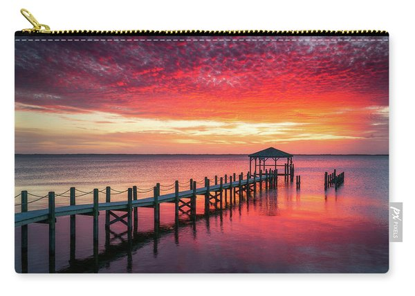 Outer Banks North Carolina Sunset Seascape Photography Duck Nc Carry-all Pouch