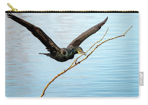 Over-achieving Cormorant Carry-all Pouch
