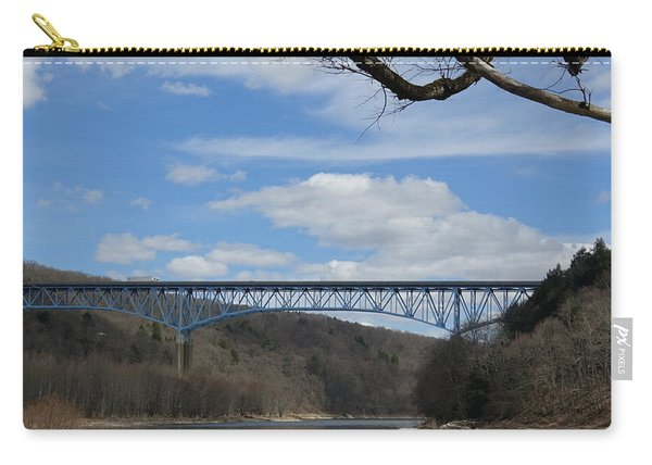 Over And Above The Allegheny  Carry-all Pouch