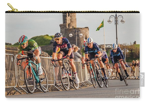 Ovo Energy Cycle Race In Aberystwyth Carry-all Pouch