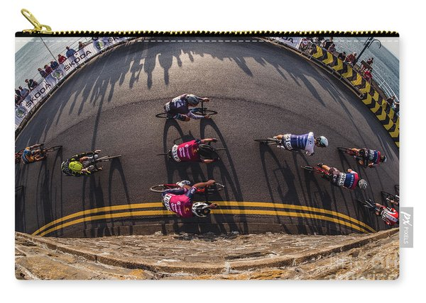Ovo Energy Pro Cycle Race In Aberystwyth Carry-all Pouch