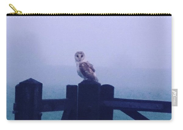 Owl In The Mist Carry-all Pouch