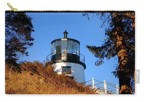Owls Head Light First Glimpse  Carry-all Pouch