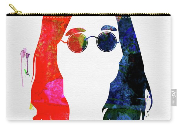 Ozzy Watercolor Carry-all Pouch