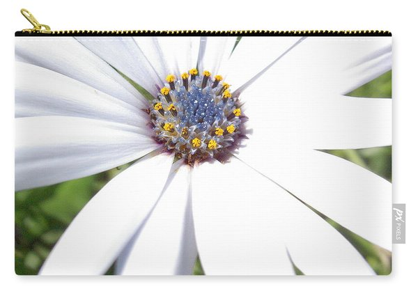 Page 13 From The Book, Peace In The Present Moment. Daisy Brilliance Carry-all Pouch