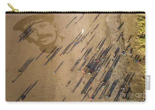 Pages Of The Sea - Ynyslas Beach Wales Carry-all Pouch