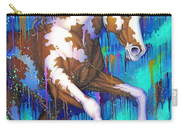 Paint Running Wild Carry-all Pouch