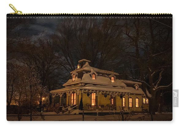 Painted Lady In Winter Carry-all Pouch