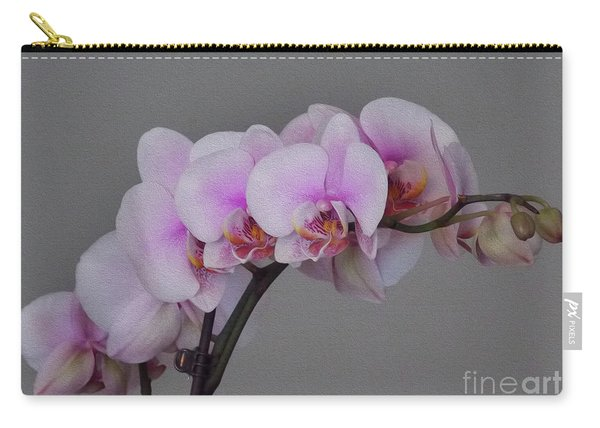 Painted Orchids Carry-all Pouch