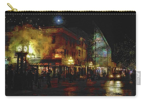 Painterly Steam Clock Carry-all Pouch
