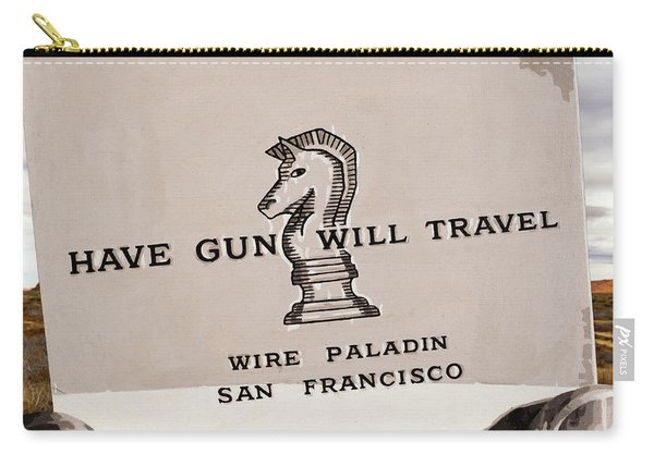 Paladin - Have Gun Will Travel - Arizona 3 Carry-all Pouch