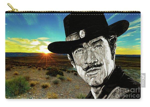 Paladin - Have Gun Will Travel - Arizona Desert Sunset 1 Carry-all Pouch