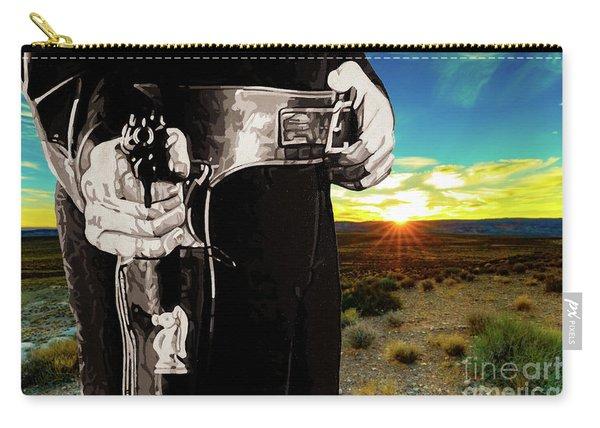 Paladin - Have Gun Will Travel - Arizona Desert Sunset 2 Carry-all Pouch
