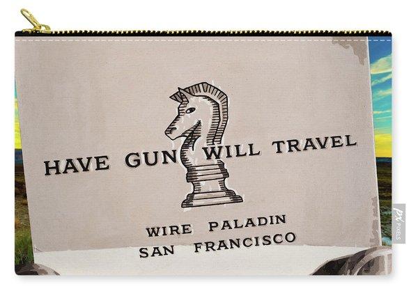 Paladin - Have Gun Will Travel - Arizona Desert Sunset 3 Carry-all Pouch