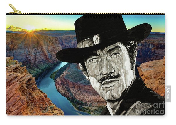 Paladin - Have Gun Will Travel - Horsehoe Bend 1 Carry-all Pouch
