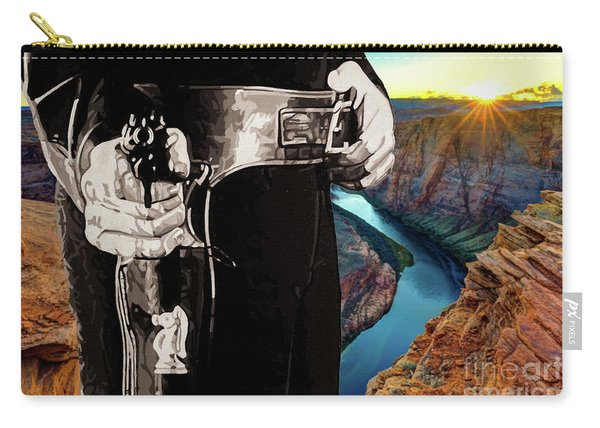 Paladin - Have Gun Will Travel - Horsehoe Bend 2 Carry-all Pouch