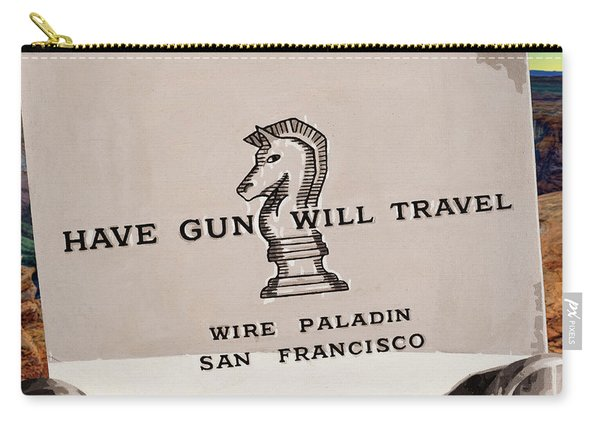 Paladin - Have Gun Will Travel - Horsehoe Bend 3 Carry-all Pouch