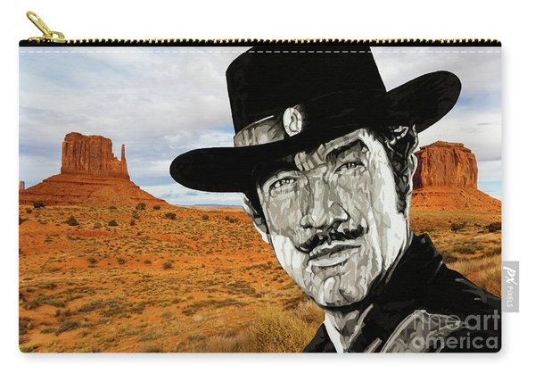 Paladin - Have Gun Will Travel - Monument Valley 1 Carry-all Pouch