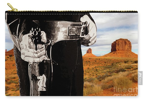 Paladin - Have Gun Will Travel - Monument Valley 2 Carry-all Pouch