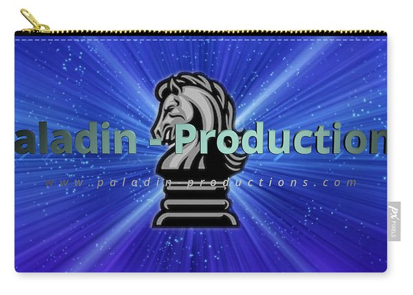 Paladin-productions.com Logo Carry-all Pouch