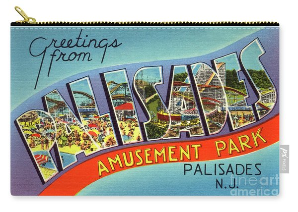 Palisades Amusement Park Greetings Carry-all Pouch