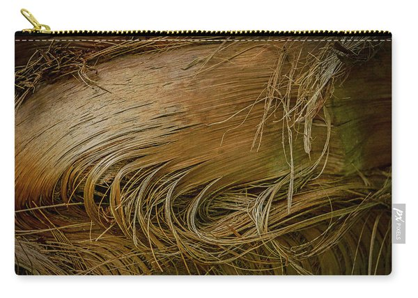 Palm Tree Straw Carry-all Pouch