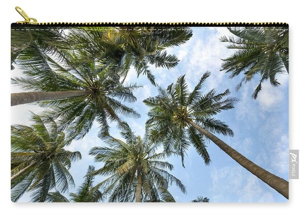 Palms  Beach Carry-all Pouch