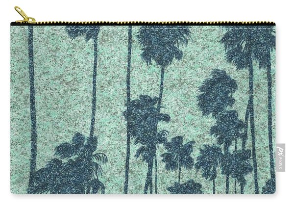 Palms Over Palisades No. 2 Carry-all Pouch