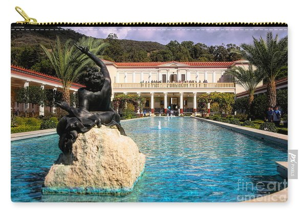 Pano View Getty Villa Awesome  Carry-all Pouch