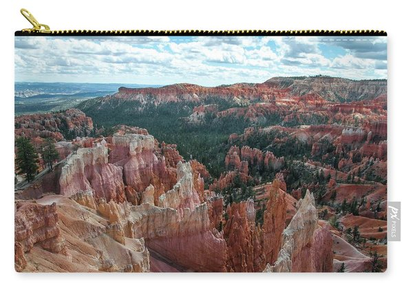 Panorama  From The Rim, Bryce Canyon  Carry-all Pouch