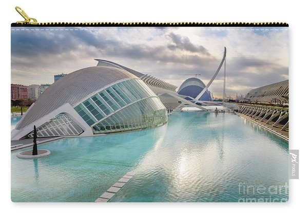 Panoramic Cinema In The City Of Sciences Of Valencia, Spain, Vis Carry-all Pouch