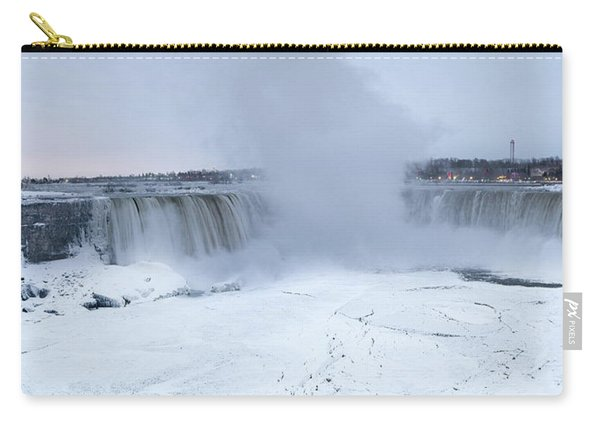 Panoramic View Niagara Falls Carry-all Pouch