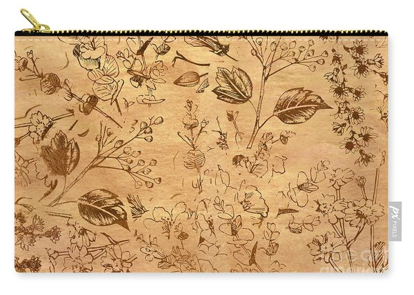 Paper Petal Patterns Carry-all Pouch