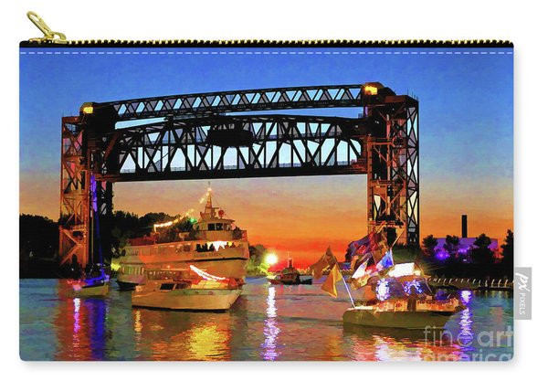 Parade Of Lighted Boats Carry-all Pouch