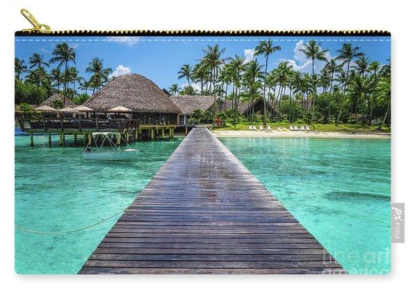 Rangiroa, Tuamotu - Paradise On Earth Carry-all Pouch