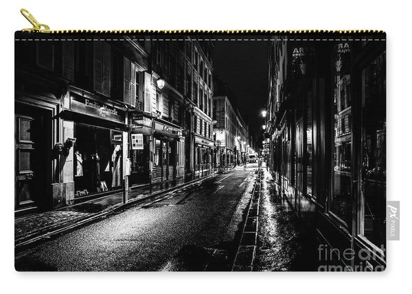 Paris At Night - Rue De Vernueuil Carry-all Pouch