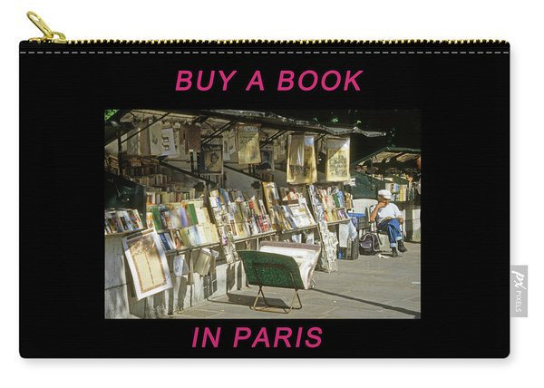 Paris Bookseller Carry-all Pouch