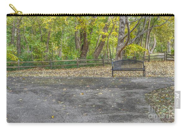 Park Bench @ Sharon Woods Carry-all Pouch