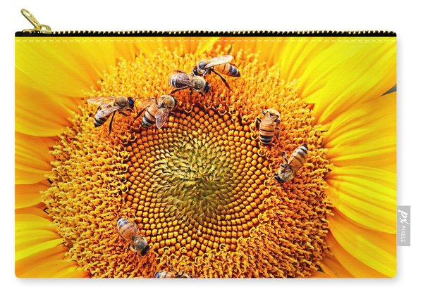 Carry-all Pouch featuring the photograph Party by Candice Trimble