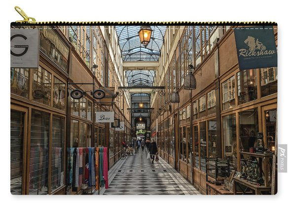 Passage Grand Cerf - Eyeglasses Shop Carry-all Pouch