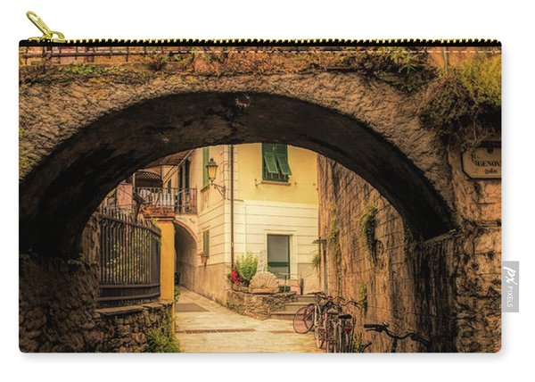 Passageway In Monterosso Carry-all Pouch